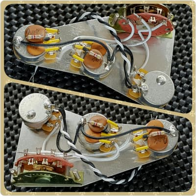 FSGuitars @ The Rhoadhouse Replacement Fender Stratocaster Greasebucket Wiring Harness Loom Upgrade Kit