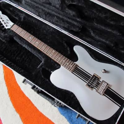 Fender Esquire Telecaster Custom GT 2003 Silver/Black for sale