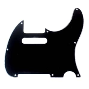 Replacement Guitar Pickguard For G&L ASAT Classic USA ,3ply Black