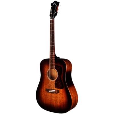 Guild D-20E Acoustic-Electric Guitar - Vintage Sunburst for sale