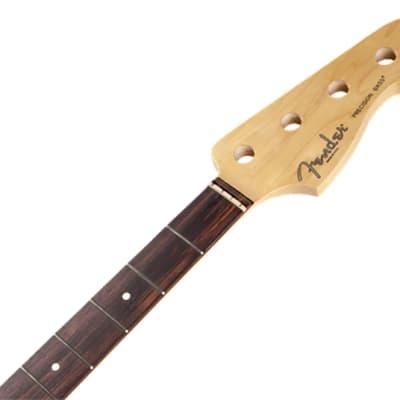 Genuine Fender American Standard Precision Bass Neck, 20 Fret Rosewood USA Made