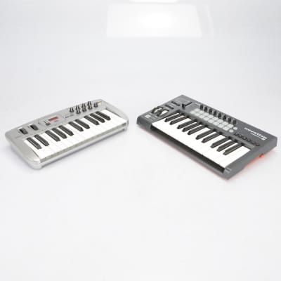 Novation Launchkey 25 w/ Midiman Oxygen 8 MIDI Keyboards #40560