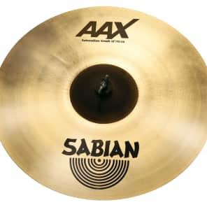 "Sabian 18"" AAX Saturation Crash Cymbal"