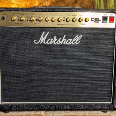 Marshall DSL 40C 40 Watt 1x12 Guitar Combo Amp with Footswitch