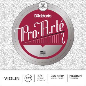 D'Addario J56 Pro-Arte 4/4 Violin Strings - Medium Tension