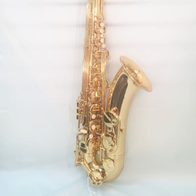 Musikwerks-Gold Lacquer Tenor Saxophone-Intermediate Level-New-w/Shop Warranty!