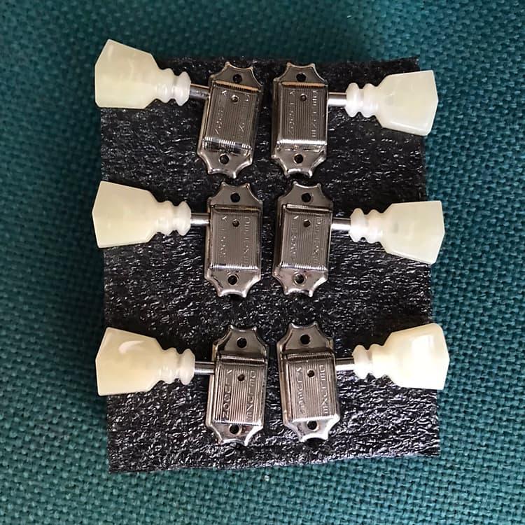 kluson vintage 3 3 pearl keystone locking tuners gibson reverb. Black Bedroom Furniture Sets. Home Design Ideas