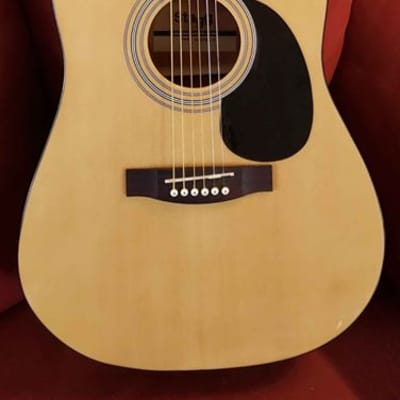 Stagg SA40DCFI-N Acoustic Electric Dreadnought Guitar for sale