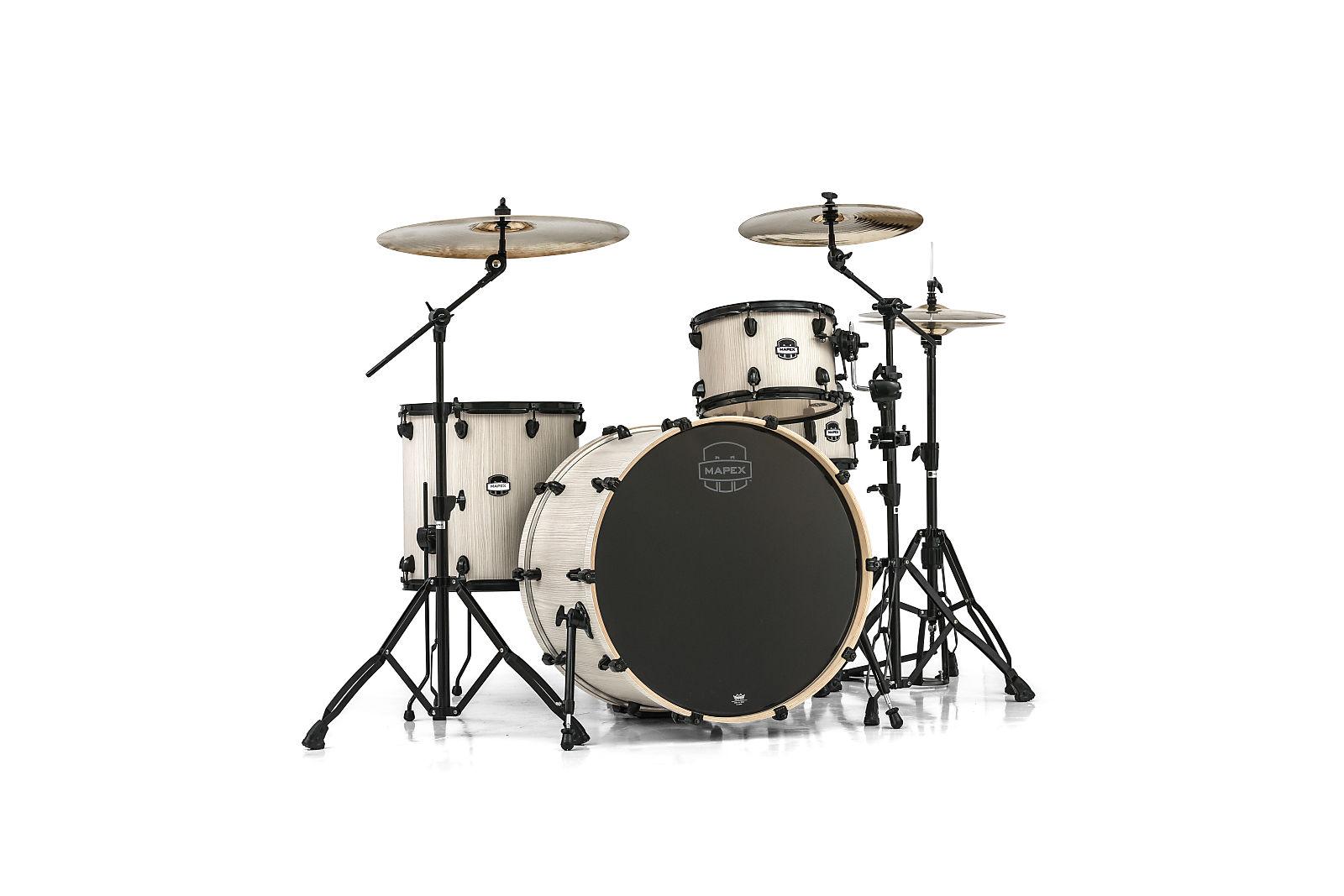 Mapex Mars Bonewood Rock Birch Drum Set Shell Pack 22x18 10x7 12x8