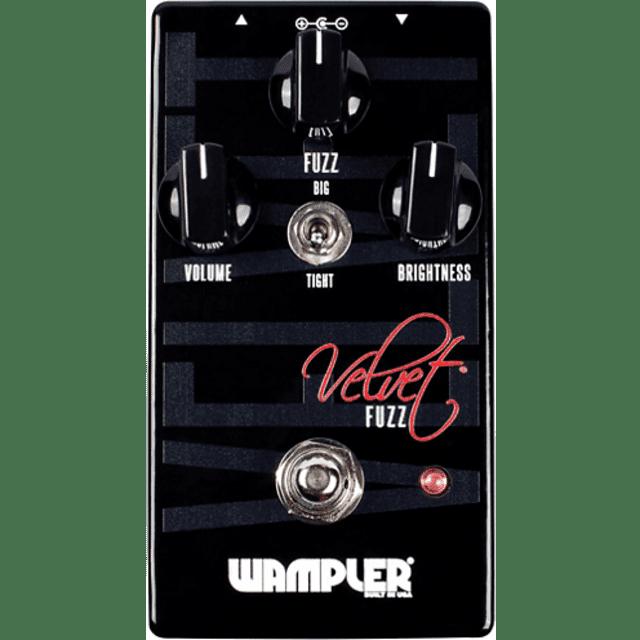 Wampler Velvet Fuzz Effects Pedal image
