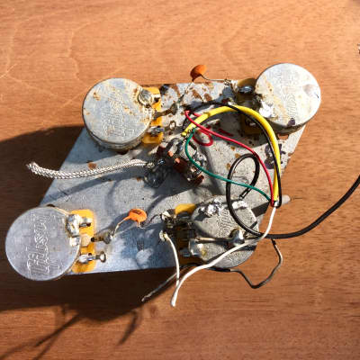 Gibson Semi-hollow wiring harness | Reverb on gibson 50s wiring, gibson es-335 wiring, gibson switch wiring, gibson les paul wiring mods,