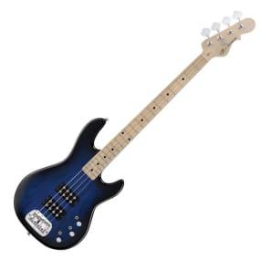 G&L Tribute Series L-2000 Bass Blueburst w/ Maple Fretboard
