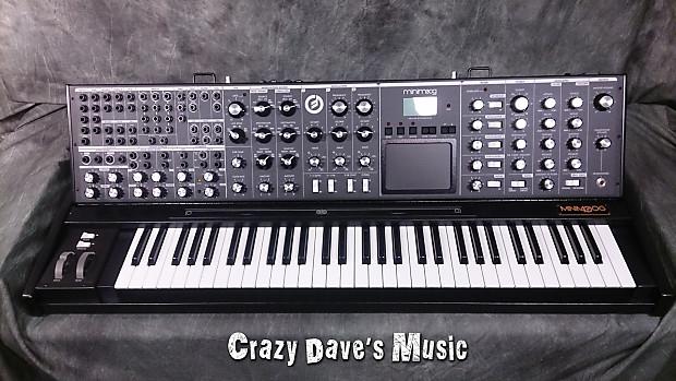 Moog Minimoog Black Voyager XL Synthesizer Analog Synth