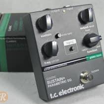 TC Electronic Classic Sustain + Parametric EQ 2000s Black image