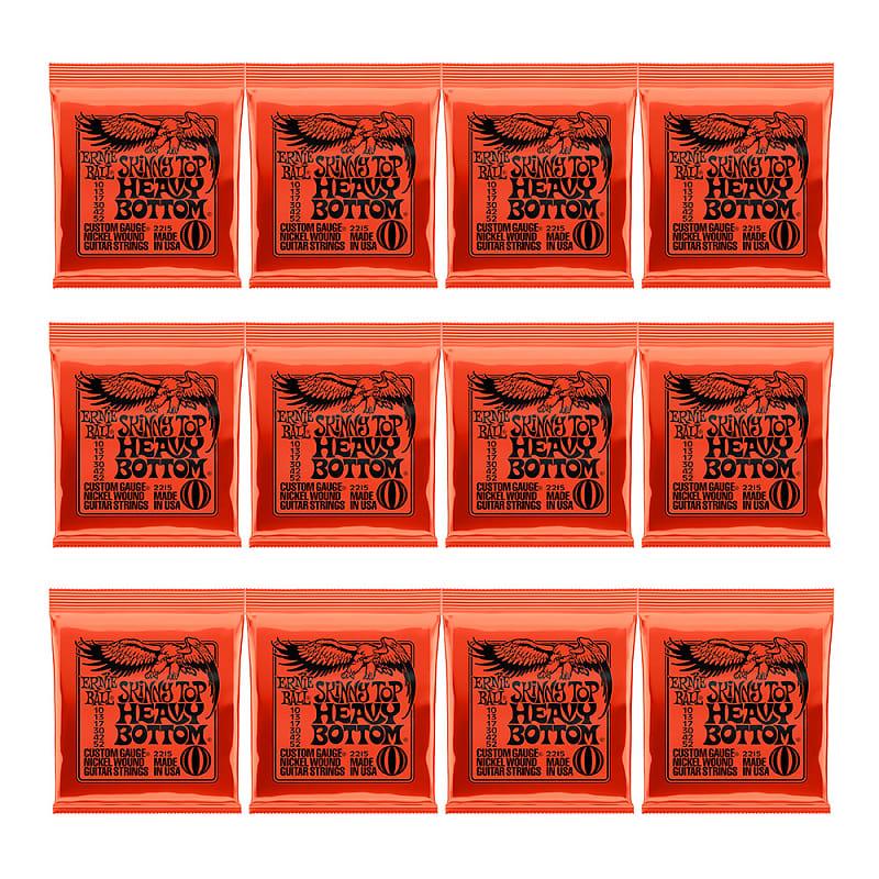 12 pack ernie ball 2215 skinny top heavy bottom guitar reverb. Black Bedroom Furniture Sets. Home Design Ideas