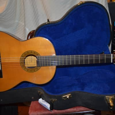 shiro kiboto model k53 classical guitar  see details natural for sale