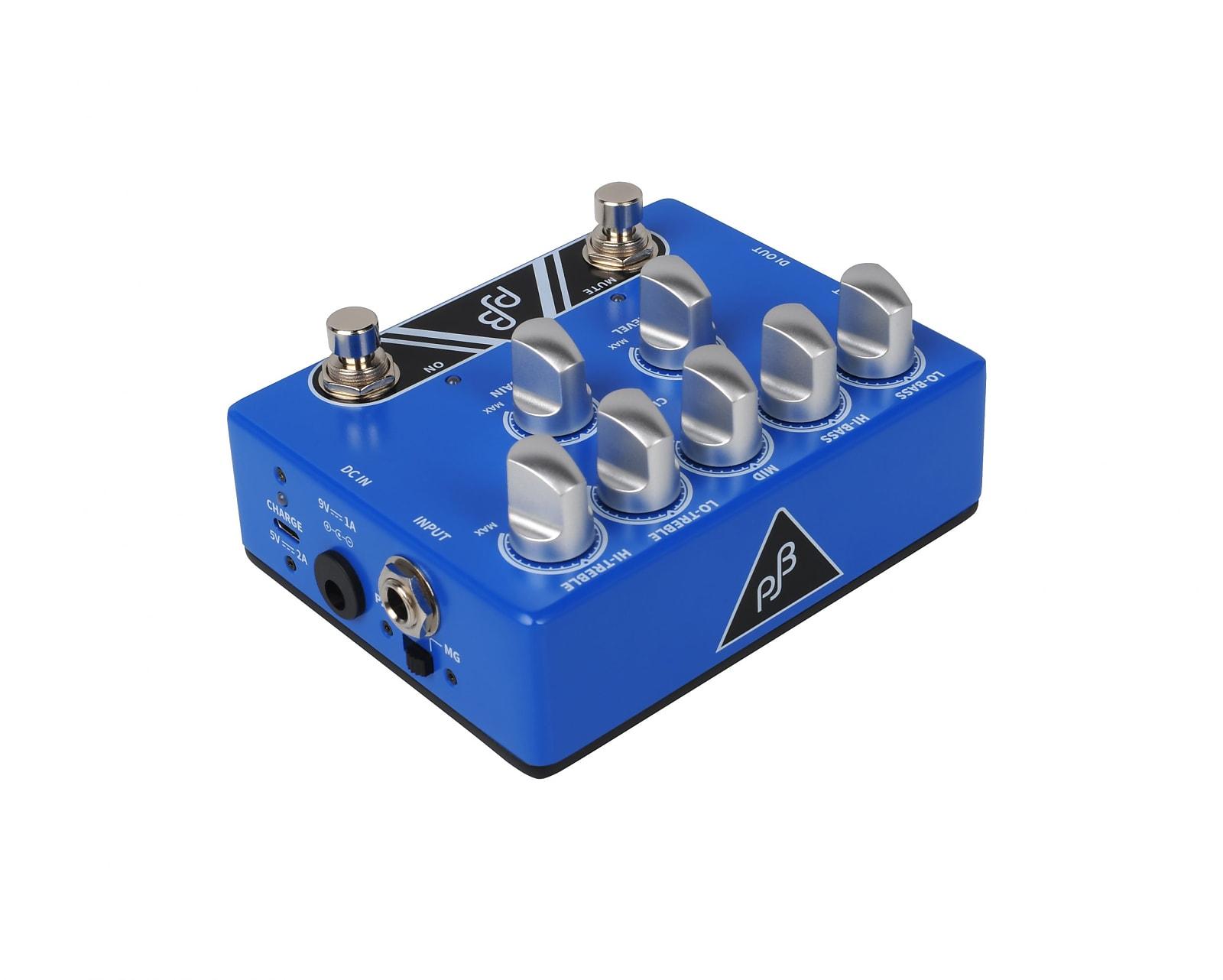 Phil Jones PE-5 Bass EQ / Pre-Amp / Direct Box / Boost Pedal
