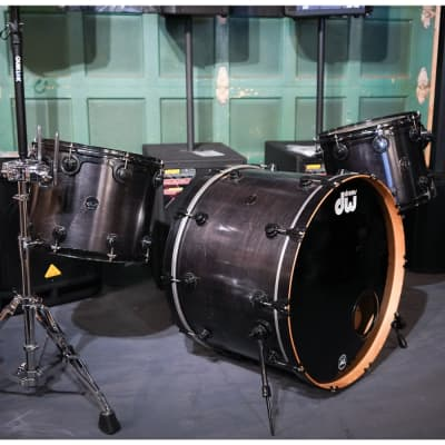 1999 DW Collector's Series 3 Piece Drum Kit, Keller Shells