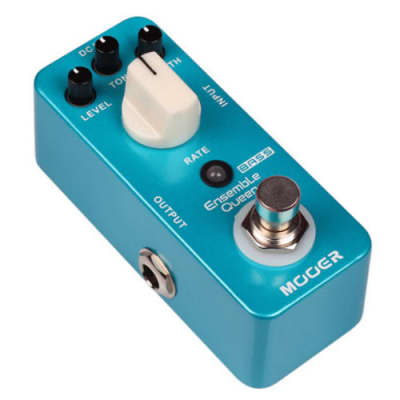 Mooer Ensemble Queen BASS Guitar Chorus NEW!! Pedal True Bypass NEW IN BOX Free Shipping