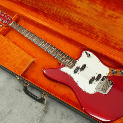 Custom Colour Fender Electric XII 1965 Candy Apple Red 100% original + OHSC for sale