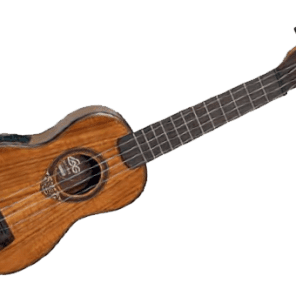 "LAG  U700SE ""Stage Series "" Electric/Acoustic Baby Soprano Ukulele for sale"
