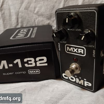 MXR M132 Super Comp Compressor Pedal with Box