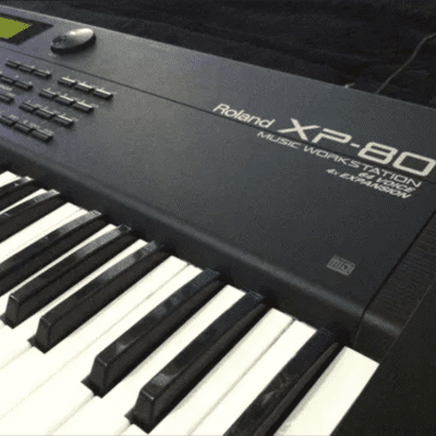 Roland XP-80 76-Key 64-Voice Music Workstation Keyboard