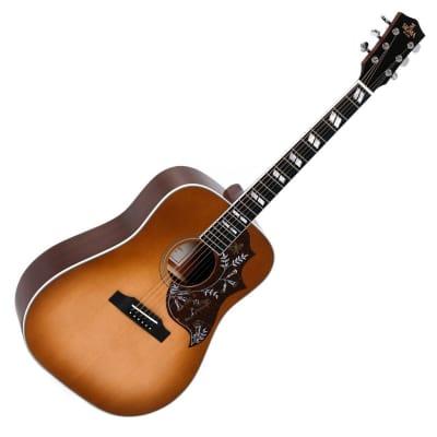 Sigma DM-SG5+ Electro Acoustic, Heritage Cherry Sunburst UV for sale