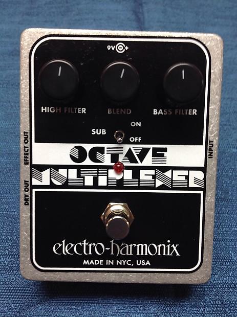 electro harmonix xo octave multiplexer guitar effects pedal reverb. Black Bedroom Furniture Sets. Home Design Ideas