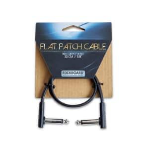 "RockBoard FlatPatch TS Cable Black 11.81"" (30cm)"