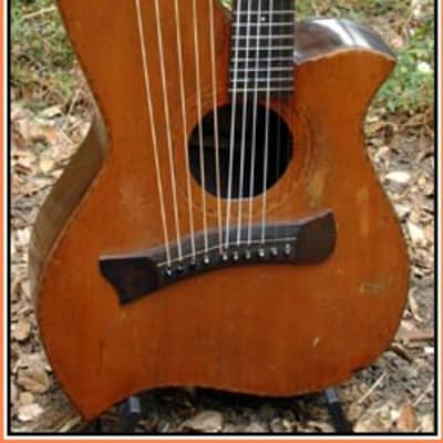 Knutsen Terz Harp Guitar 1906 Natural for sale