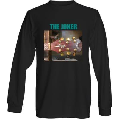 THE JOKER  Tee Shirt White Long Sleeves  Small 2021 Black