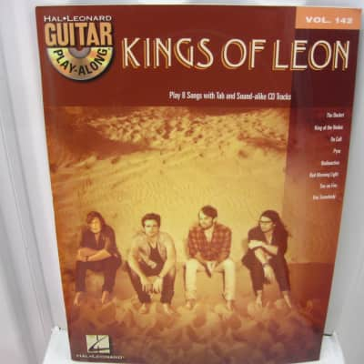 Kings of Leon Guitar Play Along CD Vol 142 Sheet Music Song Book Guitar Tab