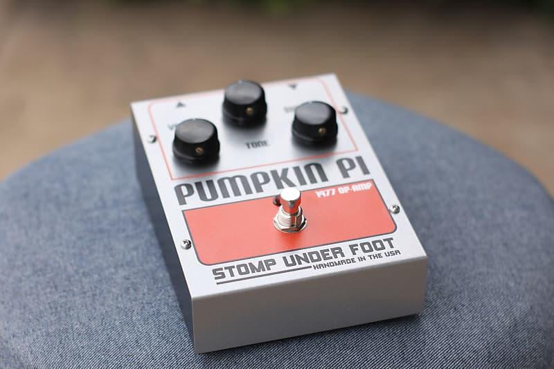 vintage op amp pumpkin pi stomp under foot free reverb. Black Bedroom Furniture Sets. Home Design Ideas