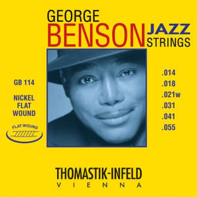 Thomastik GB114 Benson Flatwound Heavy