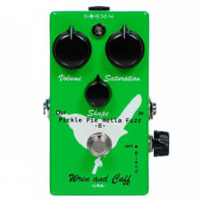 Wren and Cuff Pickle Pie B Bass Hella Fuzz Pedal