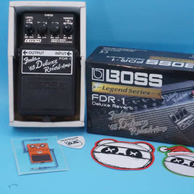 Boss FDR-1 Fender '65 Deluxe Reverb Amp Pedal w/Original Box | Rare: Legend Series | Fast Shipping!