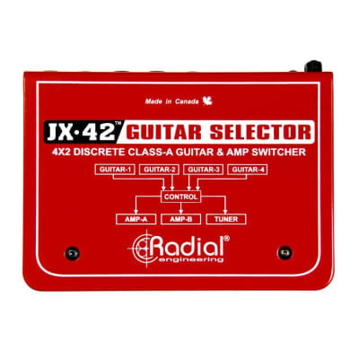 Radial Engineering JX-42 Guitar and Amp Switcher