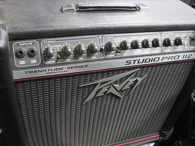 peavey studio pro 112 transtube series guitar combo amp