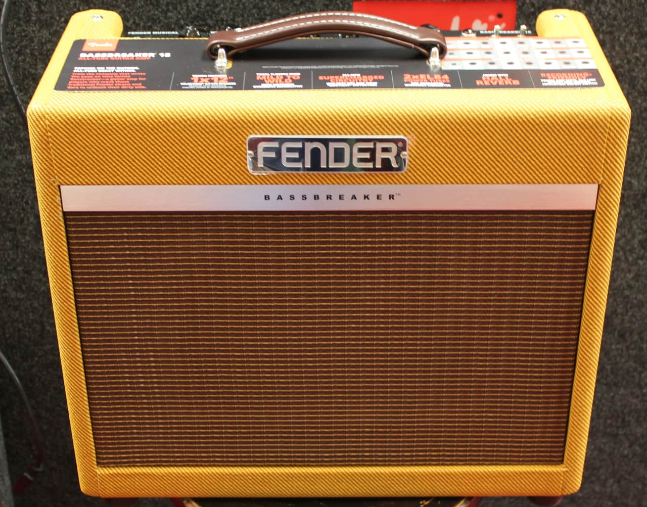 fender fsr bassbreaker 15 lacquered tweed limited edition reverb. Black Bedroom Furniture Sets. Home Design Ideas