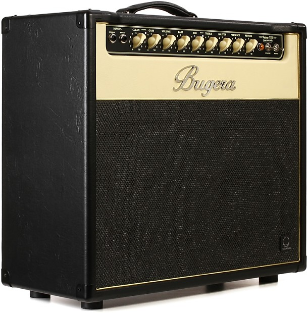 bugera v55 infinium 55 watt 1x12 tube combo amp reverb. Black Bedroom Furniture Sets. Home Design Ideas