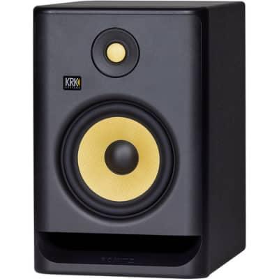 "KRK RP7G4-NA 7"" Powered Near-Field Studio Monitor"