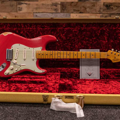 Fender Custom Shop '59 Stratocaster Relic Fiesta Red #R72264 2013 Fiesta Red for sale