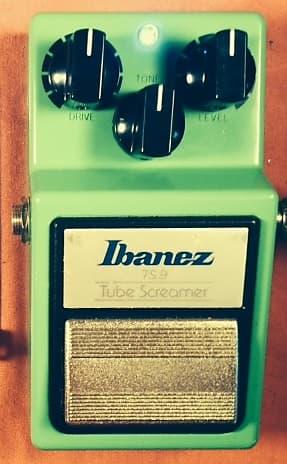 Ibanez TS9 Tube Screamer with Tube Screamer Mods PRO Mod