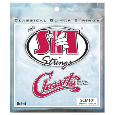 SIT Strings SCM101 Classits Medium Tension Nylon Classical Guitar Strings