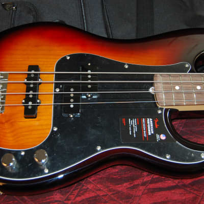 Fender American Performer Precision Bass Sunburst Finish Authorized Dealer Gig Bag Included! SAVE for sale