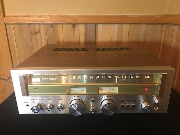 Sansui G-3000 Silverface vintage 1970's solid state hi-fi receiver