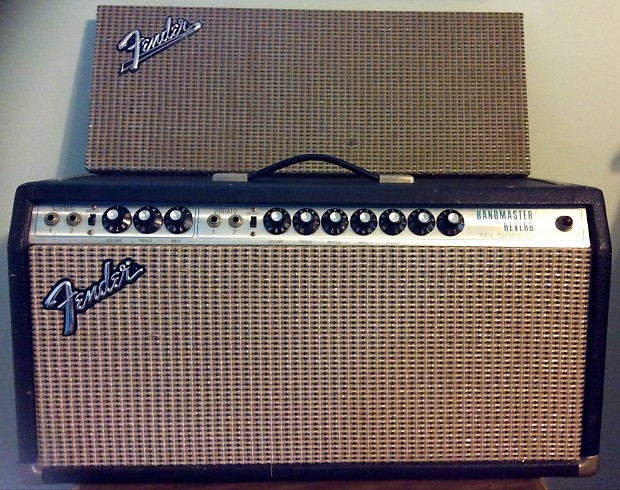 Fender Bandmaster Reverb Tfl5005d Head With Built In