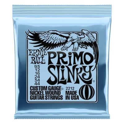 Ernie Ball Primo Slinky Nckl Wnd Elec Gtr Strings 9.5 44