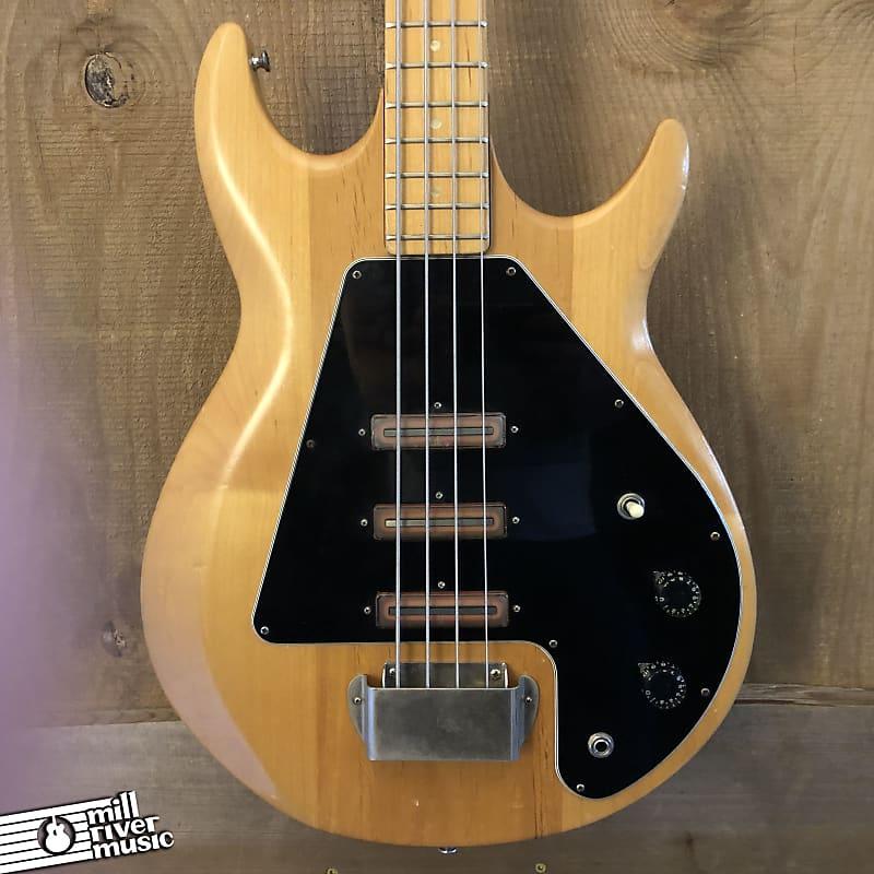 Gibson Grabber G-3 Vintage Bass Guitar Natural 1974-75